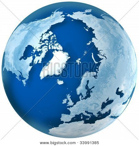 Blue Earth The North Pole