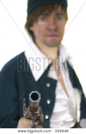 Old Gun's Muzzle