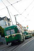 Постер, плакат: Улица автомобили Кастро Сан Франциско