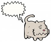 image of farting  - farting cat cartoon - JPG