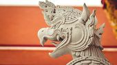 Krut Or Garuda, The Ancient Bird In The Thailand  Palace In Old Town , Center Of Bangkok, Thailand.t poster
