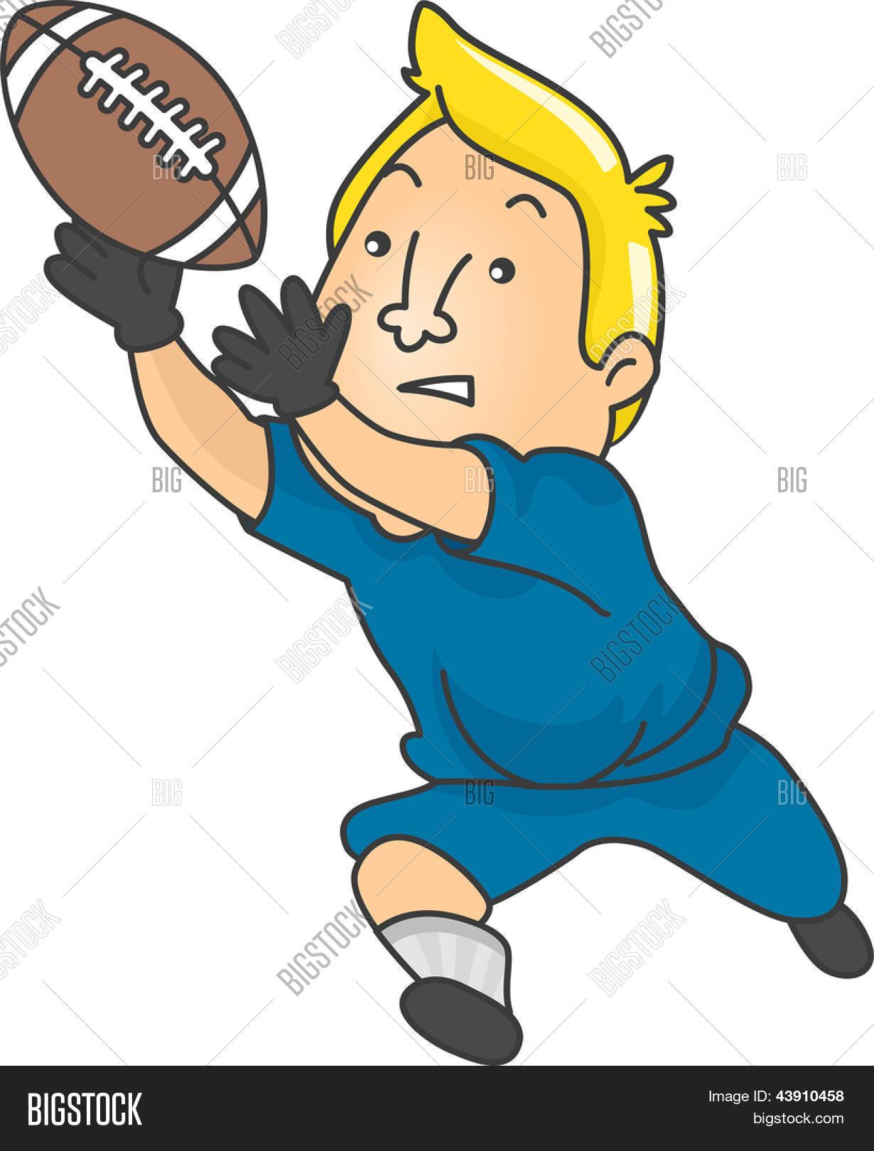 Atrapar Vectores y fotos en stock de ilustración de hombre futbolista ...