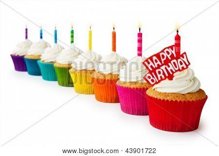 Geburtstag-Muffins
