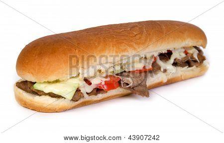 steak sub sandwich