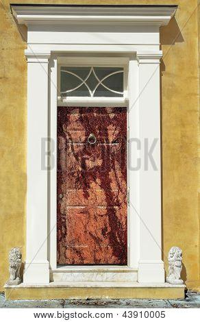 Bloody Charleston Victorian Door