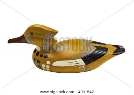 Duck Decoy With Clipping Path