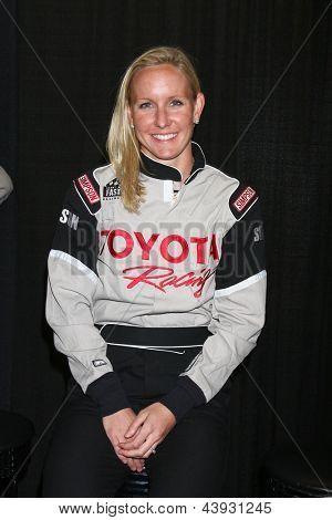 LOS ANGELES - 23 de MAR: Jessica Hardy no 37th treinamento anual Toyota Pro/Celebrity Race em o Wi