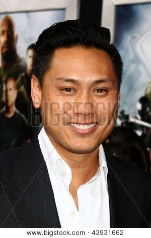 LOS ANGELES - MAR 28:  Jon M. Chu arrives at the
