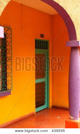 Colorful Entry