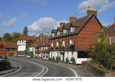 Cottages At Chiddingfold. Surrey. UK