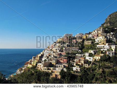 Positano en Costa Amalfitana