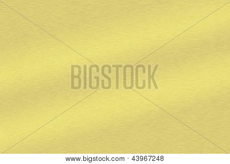 Gebürstetes Metall als Format Füllen des Hintergrunds Gold