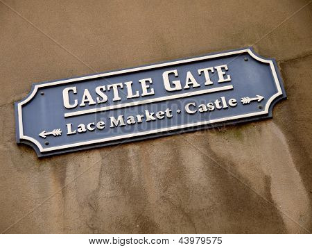 Castle Gate, Nottingham