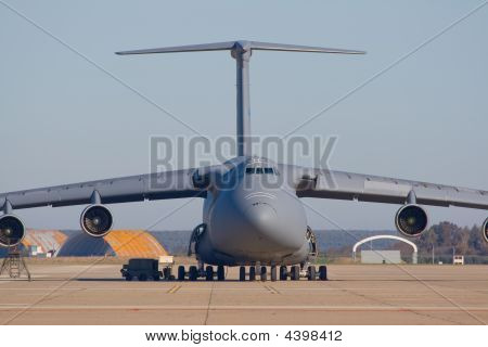 Transporting Airplane