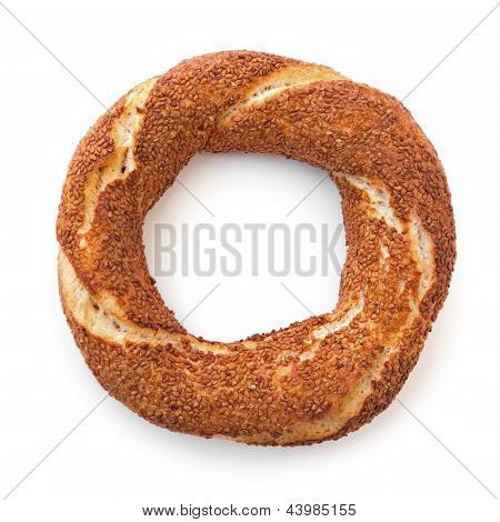 Turkish Donut Simit