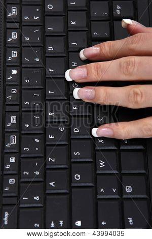 Gemanicuurde hand