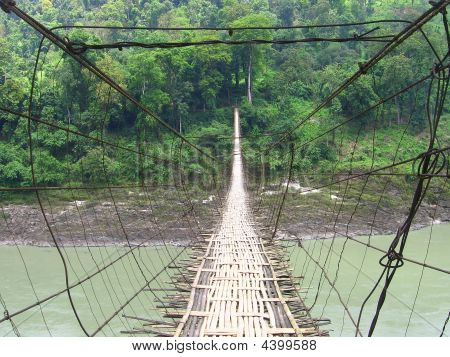 Hanging Footbridge Pangin