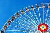 stock photo of funfair  - Ferris Wheel - JPG