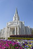 El templo de Houston Texas en Houston, Texas