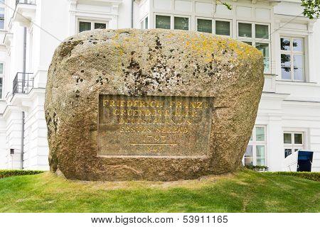 Memorial Stone, Heiligendamm