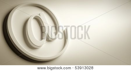 An image of a nice email sign background