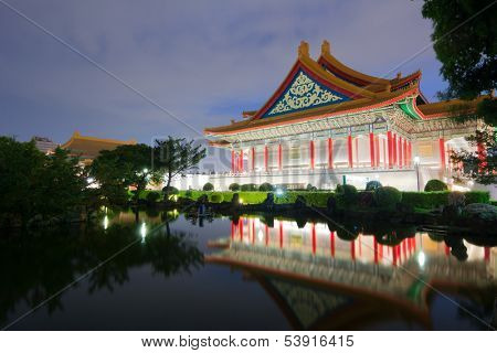 TAIPEI, TAIWAN - JUNE 25th: National Concert Hall JUNE 25th, 2013 in Taipei, TAIWAN, Asia. The building is famous landmark and must see attraction in Taipei.