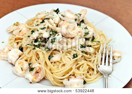 Shrimp And Squid Pasta