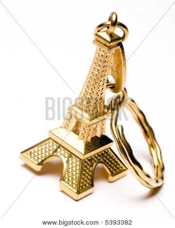 Eiffel Tower Souvenir Key Chain