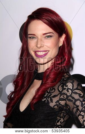 LOS ANGELES - NOV 12:  Chloe Dykstra at the GQ 2013