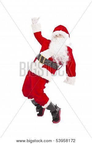 Happy Christmas Santa Claus Dancing