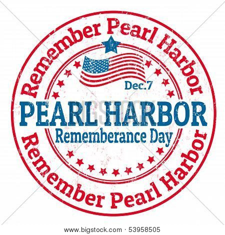 Pearl Harbor Rememberance Day Stamp