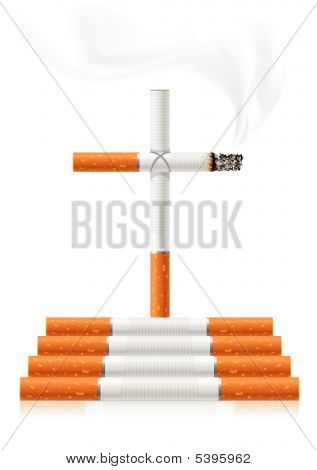 Stop Smoking-Konzept