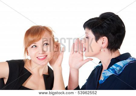 One Woman Said Softly In His Ear The Other
