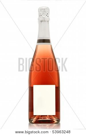 Rose Champagne Bottle.