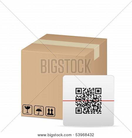 Box And Qr Code