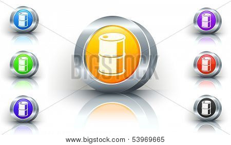 Oilcan Color Button Set