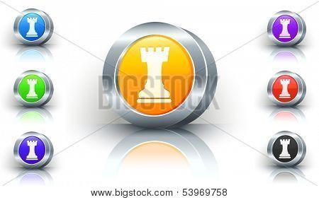 Rook Color Button Set