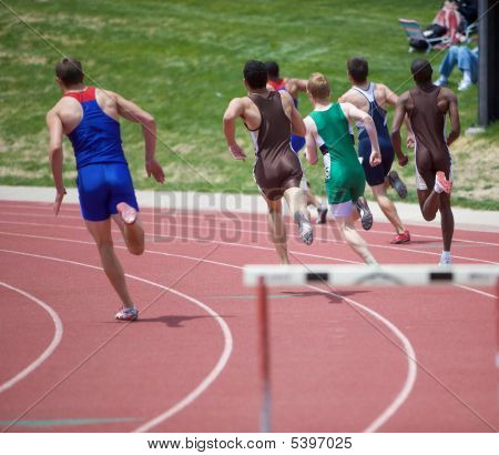 Boys Hurdles Race