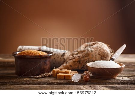 Still Life Of Sugar