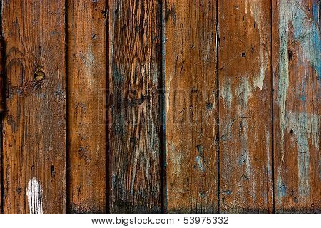 Wood  Grained Brown Grunge Texture