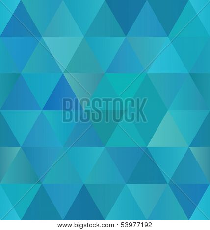 Seamless Triangle Pattern Background Texture Vector