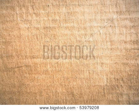 Old grungy and empty paper background of vintage light yellow page texture from interesting book without text, clear space of blotchy retro color sheet of medieval parchment pattern with rough surface