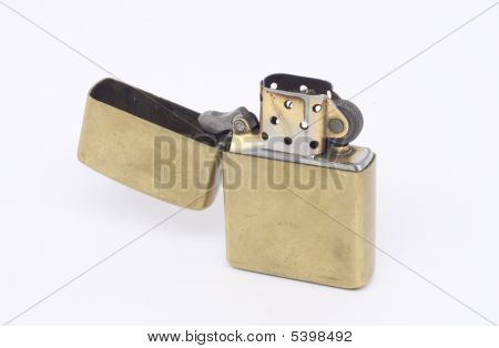 This Is A Copper Lighter