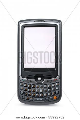 PDA isolated on white background