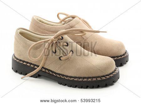 children's beige shoes
