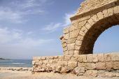 Aqueduct. Caesarea. Israel