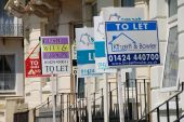 Property to let signs, St.Leonards-on-Sea