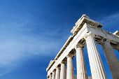stock photo of parthenon  - Parthenon on the Acropolis in Athens - JPG