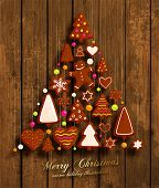picture of ginger man  - Christmas Tree - JPG