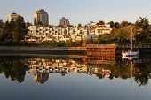 False Creek , Vancouver Reflection, Dawn